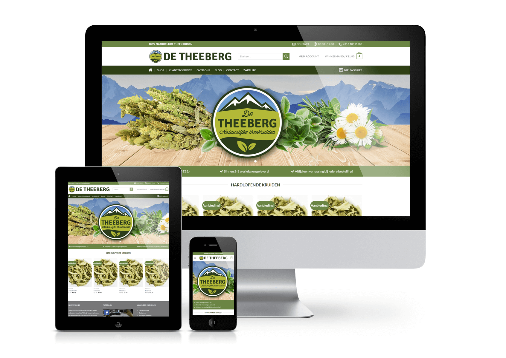 The Teaberg webshop