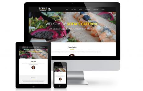 Sofia's Catering website