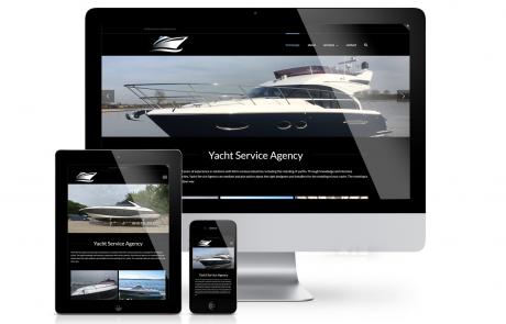 Yacht Service Agency website