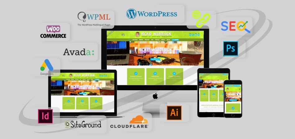 Rickid webdesign freelance web designer
