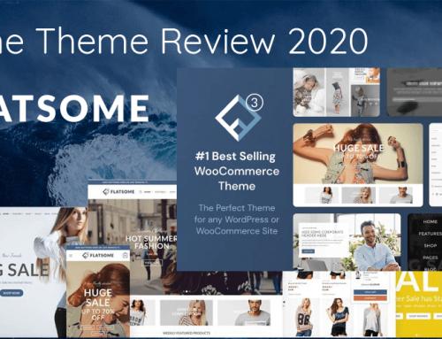 Flatsome Theme Review 2020: Is het de juiste thema keuze voor je online winkel?