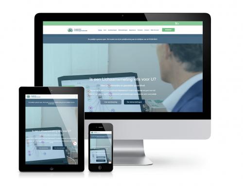 Lichaamsmeting webshop