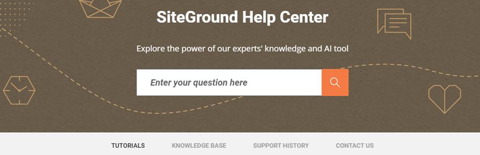 siteground help center