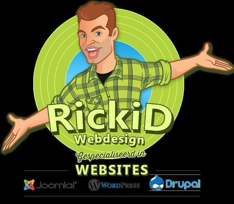 Rickid-webdesign-logo-gespecialiseeerd-in-websites-wordpress-joomla-drupal