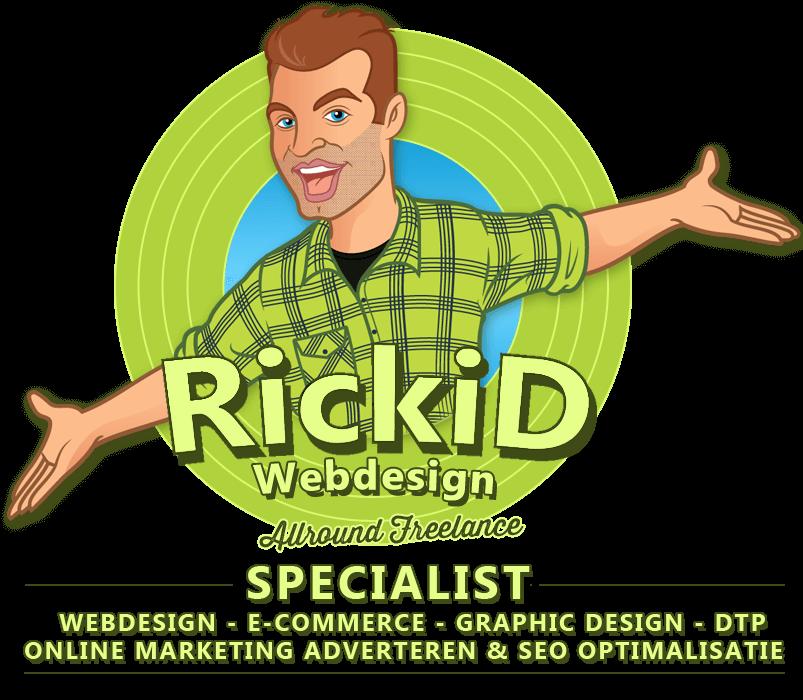 Rickidlogo-freelance-allround-specialist-rickidwebdesign